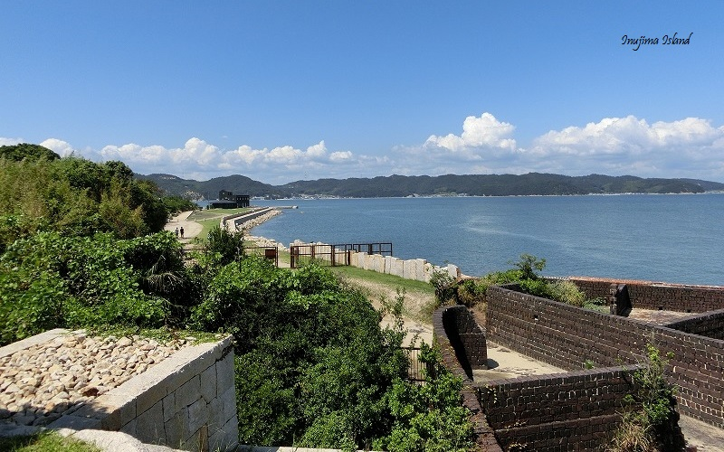 View of the Seto Inland Sea at Inujima