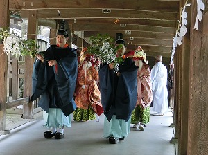 Kibitsu Shrine's Annual Spring Festival