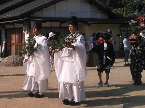Rice Planting Festival at Kibitsuhiko Shrine