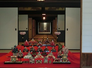 Hina Dolls Displayed in Nozaki's Historical Residence
